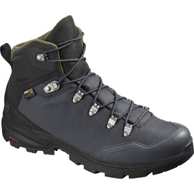Salomon Outback 500 GTX Zapatillas Hombre, ebony/black/grape leaf